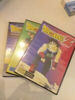 Dvd lote 3 DRAGON BALL Z DE AKIRA TORIYAMA DVD  NUEVO PRECINTADO coleccionista