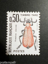 FRANCE 1982, timbre TAXE 105, INSECTES,PYROCHROA COCCINEA, neuf**, TAX MNH