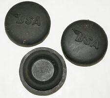 BSA A50/A65 B31/33..A10 etc..RUBBER PETROL TANK CENTRE BUNG EMBOSSED