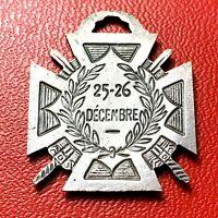 #4150 - RARE - MEDAILLE - JOURNEE DU POILU - 1915 -- 25 - 26 DECEMBRE - FACTURE