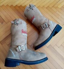 Womens Brown Harley Davidson Boots Size 4