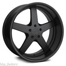"XXR 968 18"" X 10.5j et20 5x114.3 Flat Black Dished Lip Wide alloy wheels z3125"