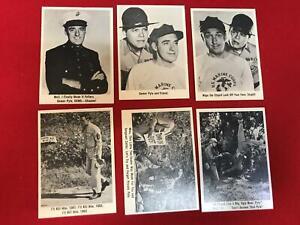1965 Fleer Gomer Pyle USMC Trading Card Set 66/66 Set grades NRMT SHAZAM! *SC3