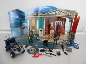 Playmobil 4168 Polizeialarm, Einbruch im Museum (Adventskalender), vollständig