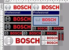 1set bosch invented for life racing tools decal sticker print full die-cut vinyl