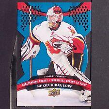 MIKKA KIPRUSOFF  2009-10 UD McDonald's  Goaltending Greats  #GG3  Calgary Flames