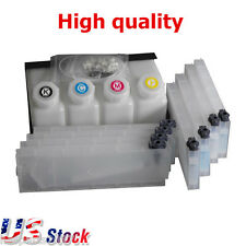 US Stock OEM Roland Mimaki Mutoh Bulk Ink System--4 Bottles, 8 Cartridges