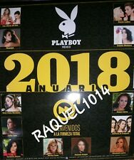 2018 PLAYBOY CALENDAR MEXICAN EDITION CALENDARIO / ANUARIO PLAYBOY MEXICO, NEW