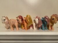 **Vintage VTG 1980s My Little Pony G1 Bundle Lot Of 6**