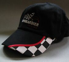 BOMBARDIER RACING IRL Indy 500 Black Cap Hat Kelley Penske  Embroidered One Size