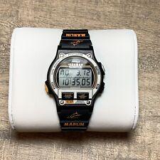 Timex Ironman Triathlon Men's 38mm Vintage Watch On Brand New Rubber Marlin Band