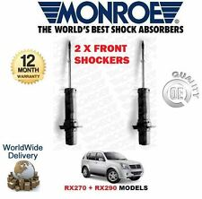 FOR SSANGYONG REXTON RX270 RX290 2002--> NEW 2x FRONT SHOCK ABSORBER SHOCKER SET