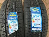 2 x NEW 215 55 18 IMPERIAL SNOWDRAGON UHP TYRES 215/55 R18 99V XL DOT 18/19