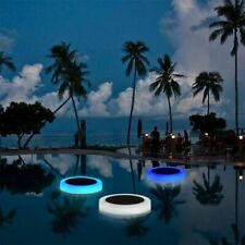 Swimming Pool Floating Light with Remote Control Underwater Solar Powered Lights
