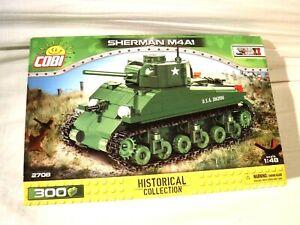1:48 COBI History Col. Sherman M4A1 300 Pcs Compatible w/ Legos Building Toys