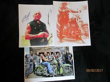 Peter Fonda, Sonny Barger and 81 crew and Signed 8 X 10 copy
