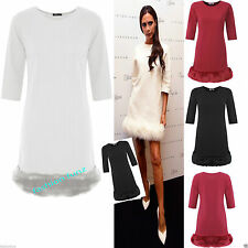 No Pattern Polyester 3/4 Sleeve Stretch, Bodycon Women's Dresses