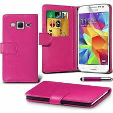 iPhone Case Cover PU Leather Magnetic Book Flip Wallet Media Case + Free St & SP