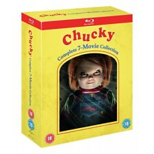 Chucky Complete 7-movie Collection Blu Ray UK Region 2 Stock