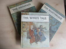 Edmund Dulac illustrations, Hans Andersen 3 separately published stories, scarce