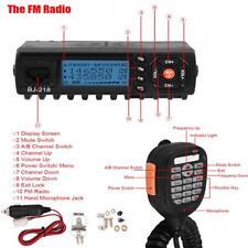 Kit Mini Car Radio Transceiver UHF VHF FM Radio Walkie Talkie Microphone
