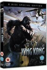 KING KONG [2005] Peter Jackson*Naomi Watts*Jack Black Epic Drama 2-Disc DVD *EXC