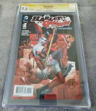 New 52 Harley Quinn  #1 5th Print CGC 9.8 SSx2 Conner and Palmiotti
