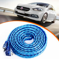 4.5m 4FT Long Car Audio Interconnect Cable Stereo AMP RCA 2 Channel Audio Line