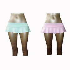 Sexy ladies girls party 6 inch 15 cms skater micro mini skirt size 6 to 20 p3