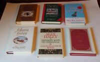 Lot of 6 Christmas Books  various Authors including Alex Haley & Johanna Lindsey