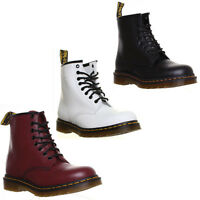 Dr Martens 1460 Smooth Unisex 8 Eyeley Lace up Boot Size UK 3 - 12