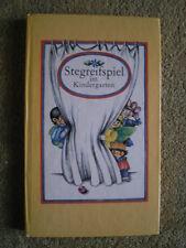 Stegreifspiel im Kindergarten - DDR Buch Spatz Schwaps Musik Theater Kostüme