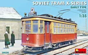 Miniart 38020 - 1/35 Soviet Tram Series-X (Early Type) Scale Model Kit