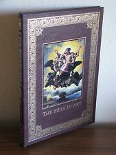 The Bible in Art by Susan Wright, Easton Press, 108 full color illustrations
