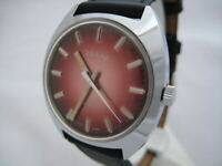 NOS NEW SWISS MADE SHOCK PROTECTED BIG VICTORY WATCH 1960'S