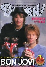 Burrn! Heavy Metal Magazine July 2001 Japan Bon Jovi Aerosmith Pantera