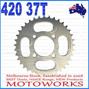 37 Teeth 420 Rear Back Chain Sprocket Cog 125cc PIT PRO TRAIL QUAD DIRT BIKE ATV
