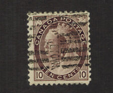CANADA SCOTT 83 USED WITH A ROLLER CANCEL.