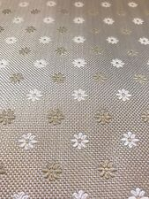 antique flower Poly  fabric