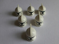 Lego Star Wars minifigures - Clone Trooper Helmets Originals - x6 per sale
