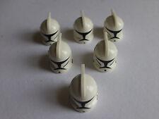 Lego Star Wars minifigures - Clone Trooper Helmets Originals - x6 per sale