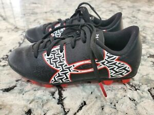 Under Armour Unisex Force 2.0 Black Soccer Cleats Shoe (1264206-006) New/No Box