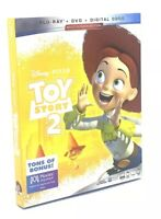 Toy Story 2  (Blu-ray+DVD+Digital Code, 2019; Multi-Screen Ed.) NEW w/ Slipcover
