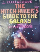 1981 Douglas Adams Audio Book The Hitch-Hiker's Guide to the Galaxy - Cassettes
