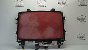 1993 HONDA PRELUDE SUN ROOF GLASS WITH TRACK & MOTOR ASSEMBLY (RUST & FADING)