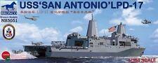 """BRONCO NB5051 1/350 USS """"San Antonio"""" LPD-17"""