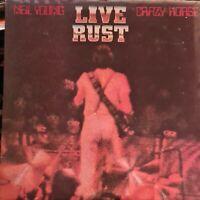 Live Rust - EX Neil Young UK 2-LP vinyl record (Double Album) K64041 REPRISE