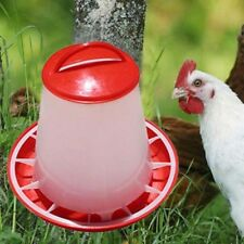 Plastic Chicken Quail Poultry Chick Hen Drinker Food Feeder Waterer Pet Supply