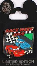 Disney Pin: WDW - Race Week 2008 - Lightning McQueen & The King (LE 1000)