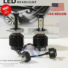 New H4 80W 4000LM 5500K/10000K 9003 CREE LED BULB Hi/Low Headlight kit USA